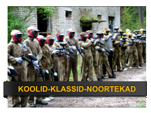 paintball klassiga kooliga klassi lõpureis