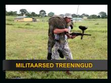meeskonna militaarne treening militaartreening