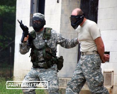 Politsei paintball meeskonnatreening meeskonnatöö