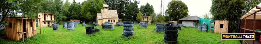 Paintballitakso lahingubaas Tallinnas Õismäel!