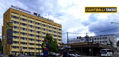 Paintball Tallinna kesklinnas!